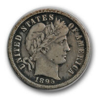 1895 O 10C BARBER DIME FINE TO EXTRA FINE NEW ORLEANS R614