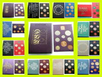 ROYAL MINT UNCIRCULATED COIN SETS 1970 TO 1982 BIRTHDAY ANNIVERSARY,
