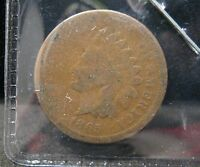 1865  INDIAN HEAD CENT-VG      P-147