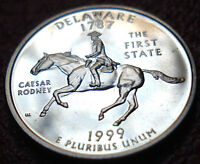 CLAD PROOF 1999 S DELAWARE STATE QUARTER