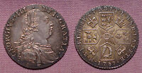 1787 KING GEORGE III SHILLING   TOP GRADE COIN   NO HEARTS