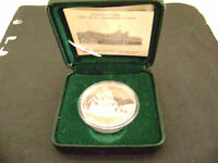 CANADA 1999 STERLING PROOF DOLLAR 1774 1999 VOYAGE OF JUAN PEREZ  MINT