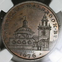 1790S NGC MS 63 ST STEPHENS CONDER 1/2 PENNY SKIDMORE'S DH 639 15110401C