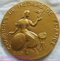 MED1843   MEDAILLE CHAMBRE DES METIERS PAR GUIRAUD    FRENCH MEDAL