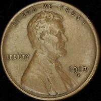 1913-S EF LINCOLN CENT - BEST VALUE @ CHERRYPICKERCOINS - 169