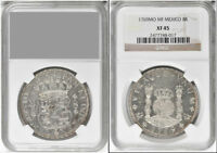 1769 MEXICO 8 REALES NGC XF 45 LOVELY HIGH END EXAMPLE
