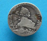 RUSSIAN IMPERIAL SILVER COIN 20 KOPEK.CATHERINE 2 TIME. 1764 1766