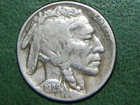 1929 S 5C BUFFALO NICKEL  919