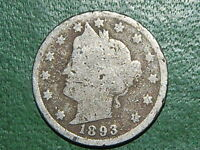 1893 LIBERTY NICKEL   849