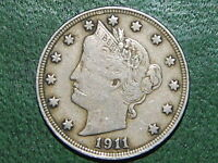 1911 5C LIBERTY NICKEL FULL LIBERTY   920