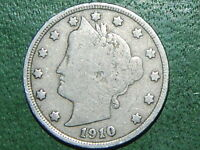 1910 5C LIBERTY NICKEL   967
