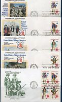H_________USA FIRST DAY COVERS 1565-68, 1568A  SET