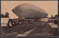 US POSTCARD 1909 KNABENSHUE AIR SHIP - LOOK