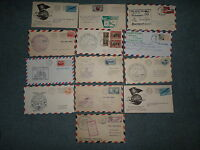 STATE OF PENNSYLVANIA FIRST FLIGHT COVER COLLECTION, ALL W/CACHET