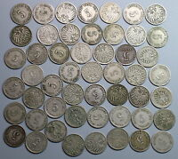 1800S 1900S GERMANY 5 PFENNIG KAISER REICH LOT OF 150 COINS 17022403R