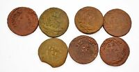 RUSSIAN IMPERIAL COPPER COINS DENGA 1730 1753