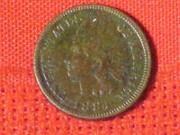 1884  INDIAN HEAD CENT / FULL LIBERTY     NICE COIN