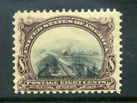 SCOTT 298 PAN AMERICAN STAMP NEVER HINGED STRONG SHIFT VARIETY $230.00 7DM21 20