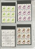 1981 CHRISTMAS SEALS PRINTERS PROGRESSIVE COLOR PROOF COLLECTION