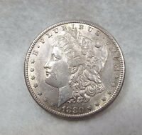 1880 S MORGAN DOLLAR ALMOST UNCIRCULATED  SILVER DOLLAR