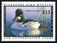 SCOTTRW80 $15 FEDERAL DUCK MINT NH OG NEVER HINGED WELL CENTER