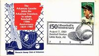DR JIM STAMPS US BASEBALL 150TH ANNIVERSARY EVENT 1989 COVER