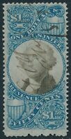 DR JIM STAMPS OLD US REVENUE SCOTT R120 $1.50 DOCUMENTARY USED NO RESERVE