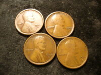 1912-S 1913-S 1914-S 1915-S  LINCOLN CENT COINS  TONYZ