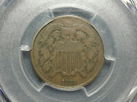 1872 TWO CENT PIECE 2C KEY DATE PCGS VG10