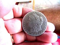 BETTER DATE 1887-S UNITED STATES  MORGAN SILVER DOLLAR