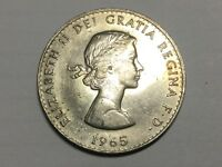 GREAT BRITAIN 1965 CHURCHILL CROWN COIN UNCIRCULATED