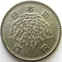 JAPAN COINS 100 YEN 1959 SHOWA 34 RICE SILVER 0.600 .