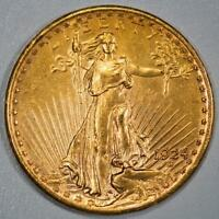 1924 ST. GAUDENS $20 GOLD DOUBLE EAGLE ITEMJ2014