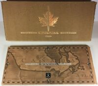 CANADA: 1999 MILLENNIUM STERLING SILVER PROOF AND MINT STATE