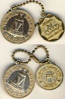 JAPAN VELBON CAMERA TRIPODS ADVERTISEMENT TOKENS WATCHFOBS 1955 1960S
