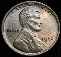 BEAUTIFUL HIGH GRADE CHOICE  RB BU 1923 LINCOLN WHEAT CENT. GREAT MIXED COLOR