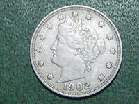 1902 LIBERTY NICKEL FULL LIBERTY  822