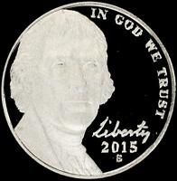 2015 S GEM PROOF JEFFERSON NICKEL   ALWAYS BEST VALUE @ CHERRYPICKERCOINS