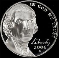 2006 S GEM PROOF JEFFERSON NICKEL   ALWAYS BEST VALUE @ CHERRYPICKERCOINS