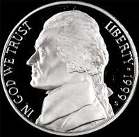 1999 S GEM PROOF JEFFERSON NICKEL   ALWAYS BEST VALUE @ CHERRYPICKERCOINS