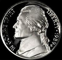 1989 S GEM PROOF JEFFERSON NICKEL   ALWAYS BEST VALUE @ CHERRYPICKERCOINS
