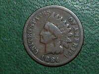 1884 INDIAN HEAD CENT   856