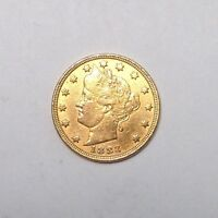 1883 NO CENT RACKETEER GOLD PLATED