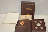 2009 ABRAHAM LINCOLN COIN & CHRONICLES SET   PROOF SILVER DOLLAR & FOUR PENNIES