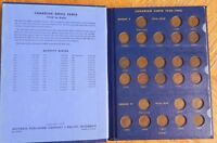 CANADIAN SET OF 54 1 CENT COPPER PENNIES WITH KEY DATES 1922 1923 1924 1925 1926