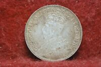 CANADA 1916 25 CENTS KM24 SILVER FINE  OR BEST OFFER              36/5