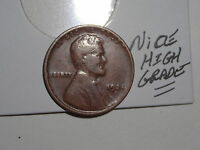 WHEAT CENT 1924D LINCOLN CENT 1924-D  HIGH GRADE DETAILS KEY DATE FREE S/H