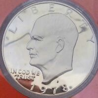 1978-S PROOF EISENHOWER DOLLAR GEM PROOF DEEP CAMEO GOOD COIN-GREAT PRICE