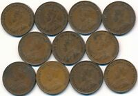 11 KEY DATE 1924 ONE CENT'S CANADA