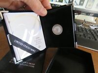 1999 CAMEO PROOF 1/10 OZ AMERICAN PLATINUM EAGLE GOVERNMENT PACKAGE AND COA